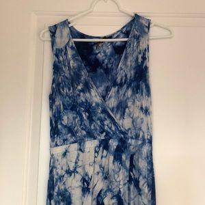 Blue maxi dress!